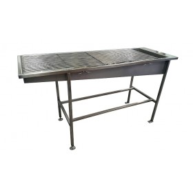 Stainless Steel Slimline Prep & Treatment Table