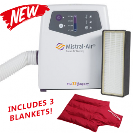 MISTRAL AIR WARMER - Includes 3 Blankets!