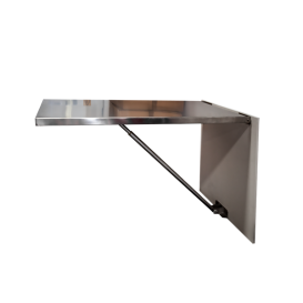 Wall Mount Consult Table, Stainless Steel